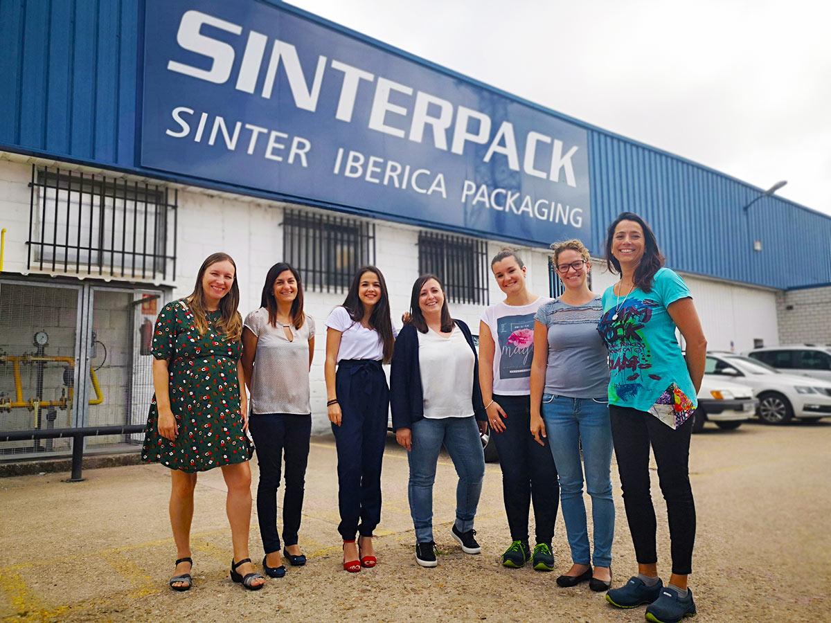 Sinterpack apuesta por el talento femenino: el 64% de sus nuevas incorporaciones son mujeres