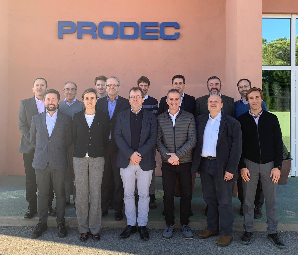 Sinterpack & Prodec join their strengths to compete worldwide providing complete end-of-line solutions